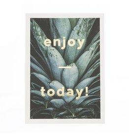 Timi postcard - enjoy today