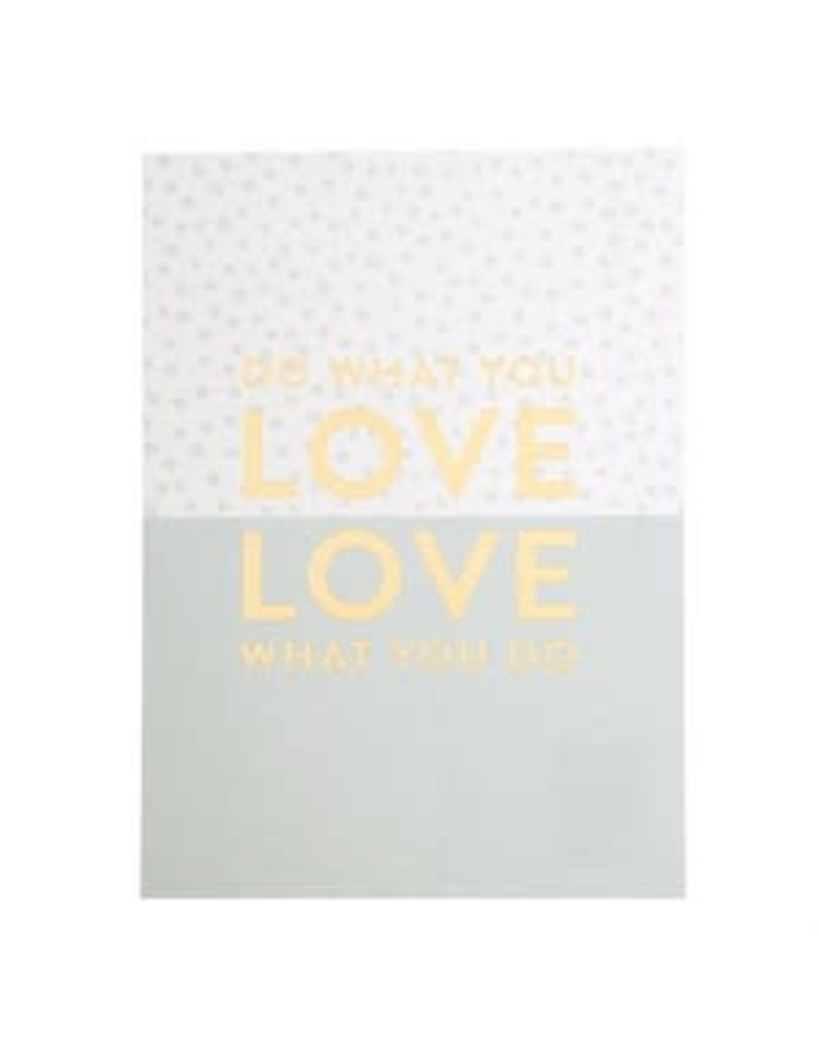 postcard with print - do what you love