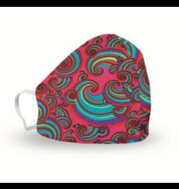 i-total herbruikbaar mondmasker - vrouw  (regenboog)