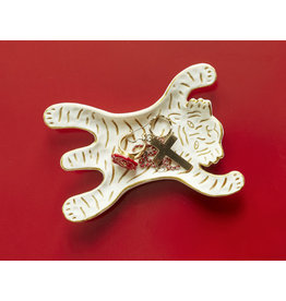 Kikkerland jewelry dish - tiger