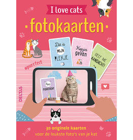 Deltas selfie cards - I love cats