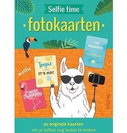 Deltas fotokaarten - selfie time