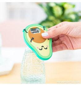 Mr. Wonderful magnetic bottle opener - avocado