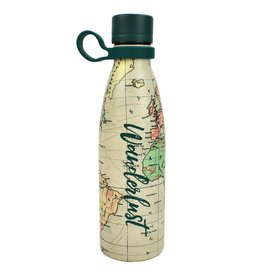 Legami 500ml hot & cold drinkfles - wanderlust
