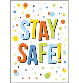 Artige Quarantaine kaart - stay safe