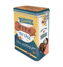 Nostalgic Art clip top box - every bite you take