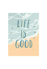 Timi postcard - life is good