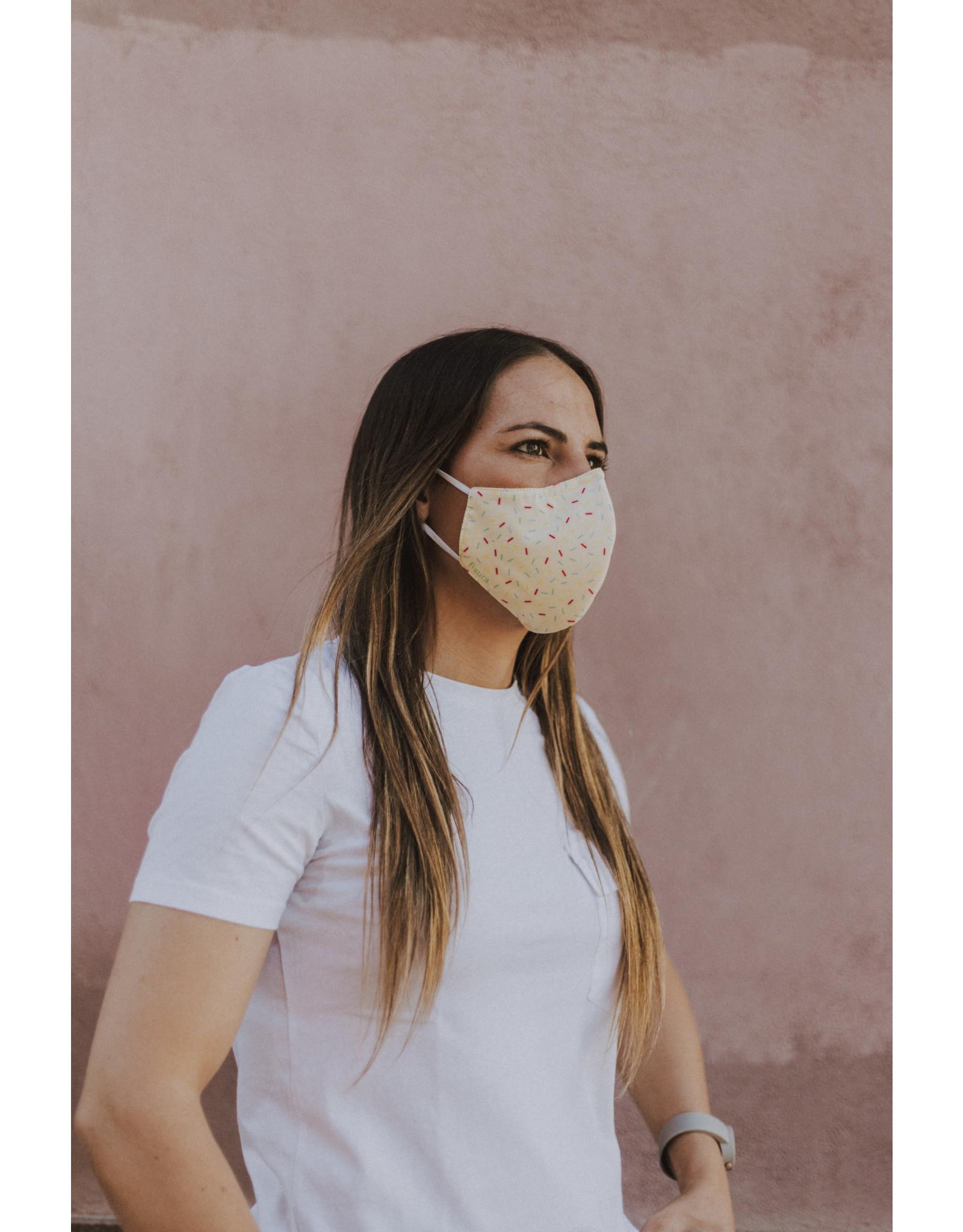 Fisura reusable face mask - vanilla sprinkles
