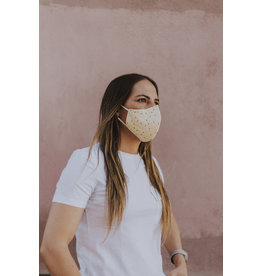 Fisura reusable face mask - adult - vanilla sprinkles