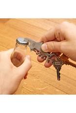 Shark key ring with bottle opener