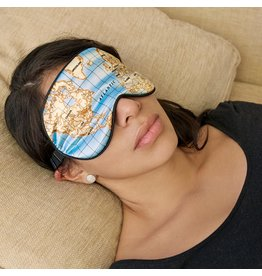 Kikkerland eye mask - map
