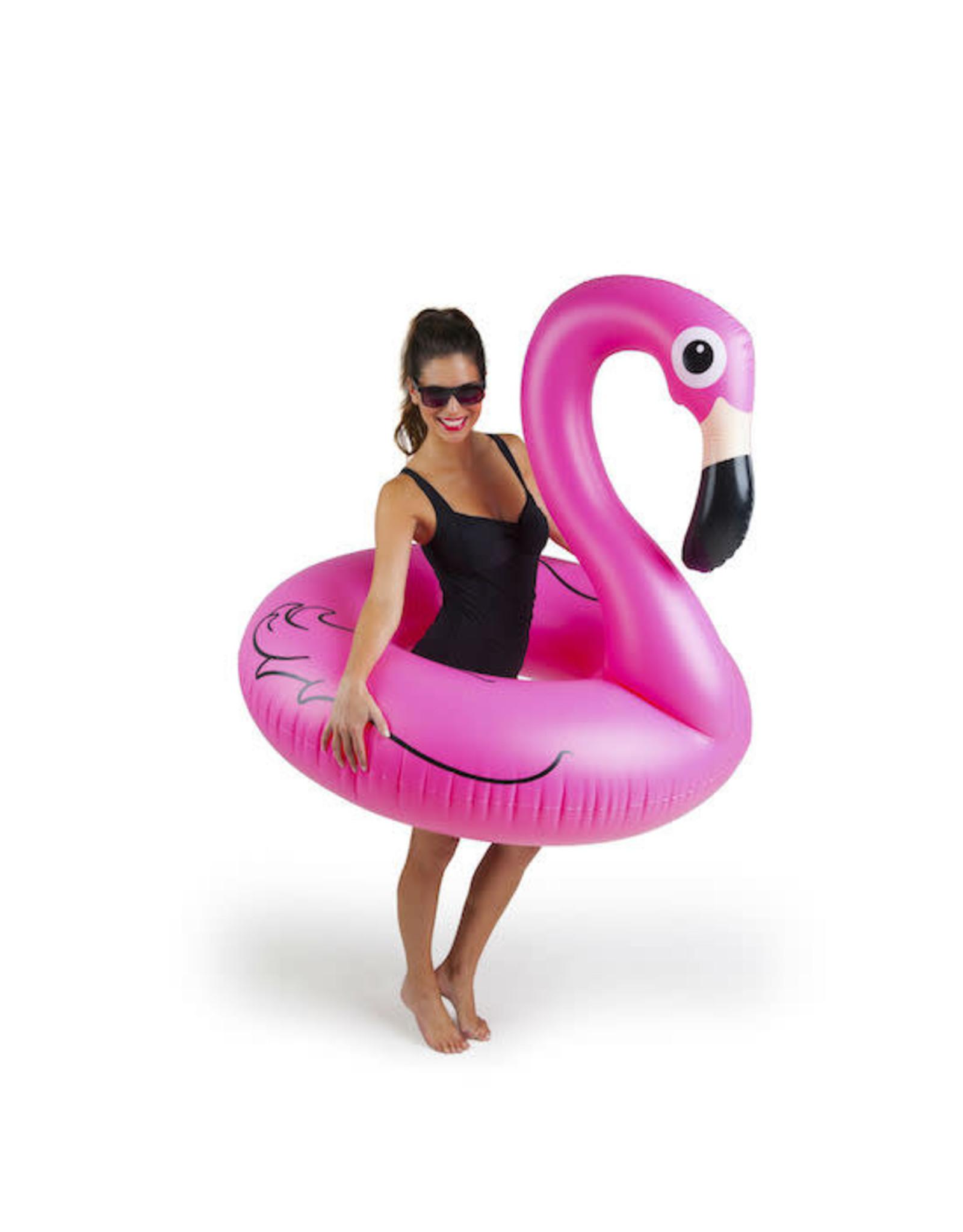pool float - giant pink flamingo