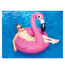 Big Mouth pool float - giant pink flamingo