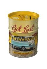 Nostalgic Art spaarpot -  oil barrel - let's get lost