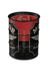 Nostalgic Art spaarpot - oil barrel - motor oil