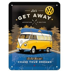 Nostalgic Art sign - 15x20 - get away