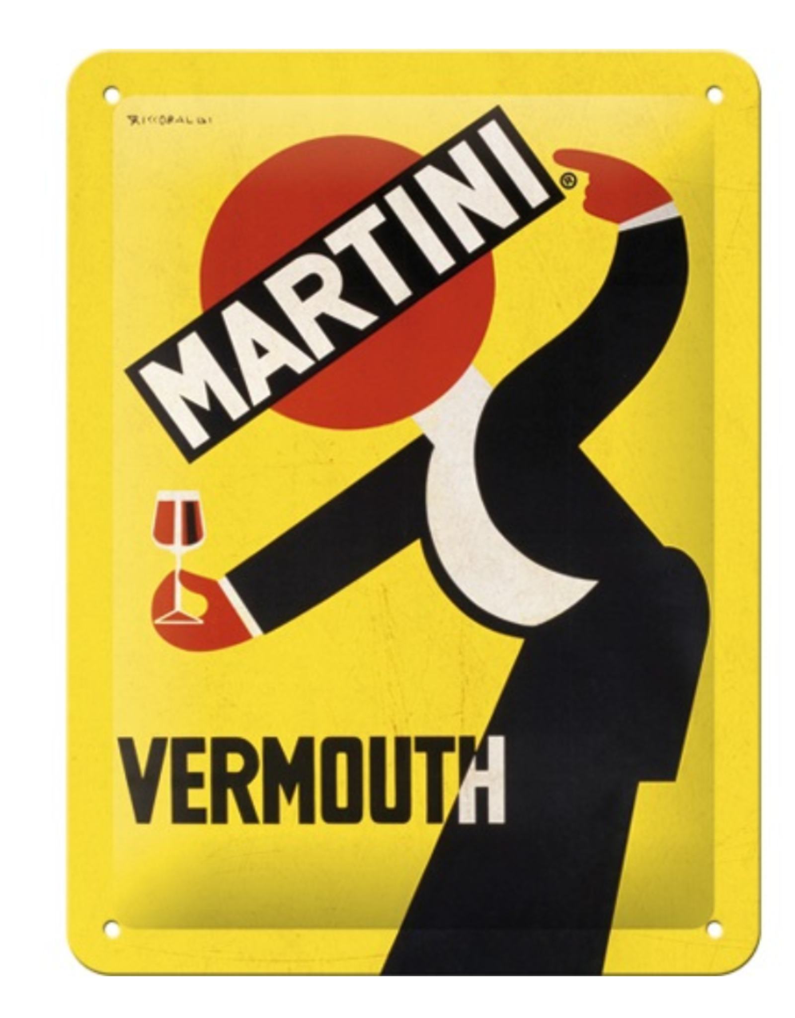 Nostalgic Art sign - 15x20 - martini