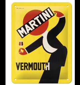 Nostalgic Art sign - 15x20 - martini
