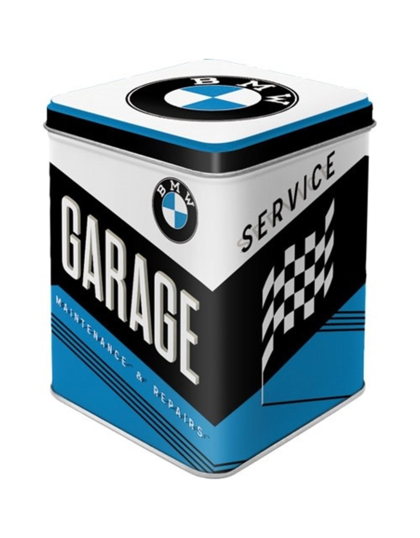 Nostalgic Art bewaardoos - BMW garage