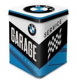 Nostalgic Art tea box - BMW garage