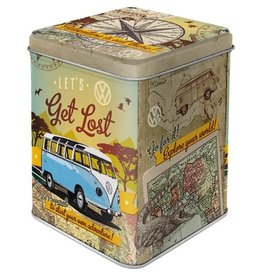 Nostalgic Art tea box - let's get lost