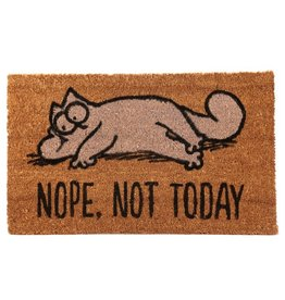 deurmat kat - nope, not today
