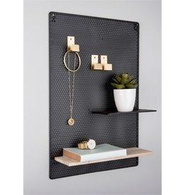 Present Time memobord - perky mesh (zwart)