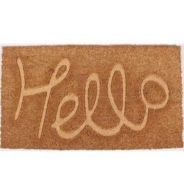 La Finesse doormat - hello (engraved)