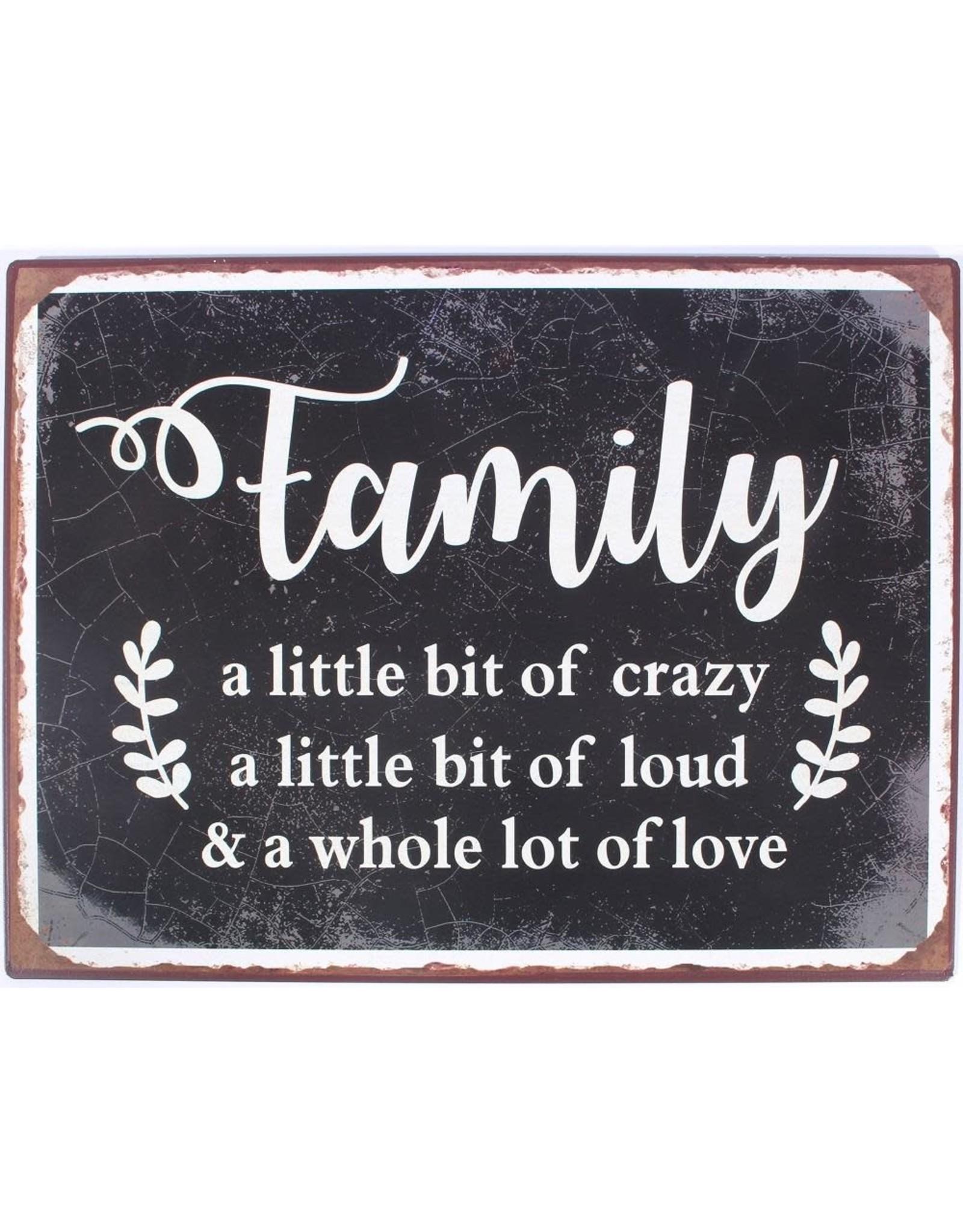 La Finesse hangbordje - family a little bit of crazy