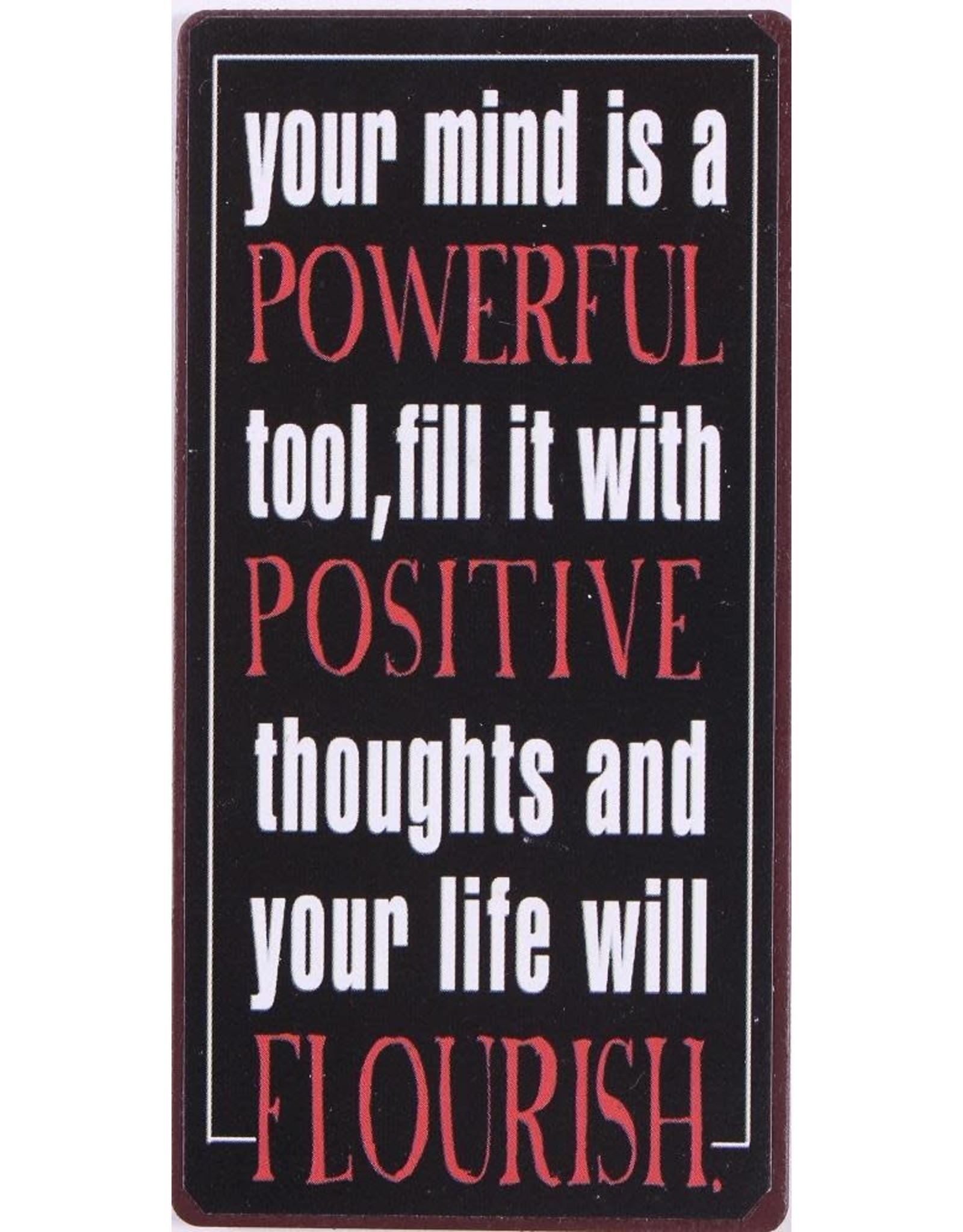 La Finesse magnet - your mind is powerful