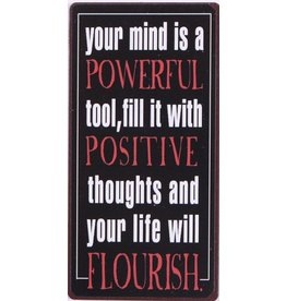 La Finesse magneet - your mind is powerful