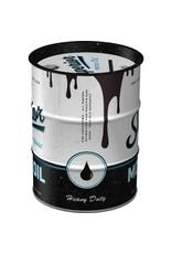 Nostalgic Art moneybox - oil barrel - BMW