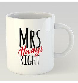 Jelly Jazz mug - Mrs. always right