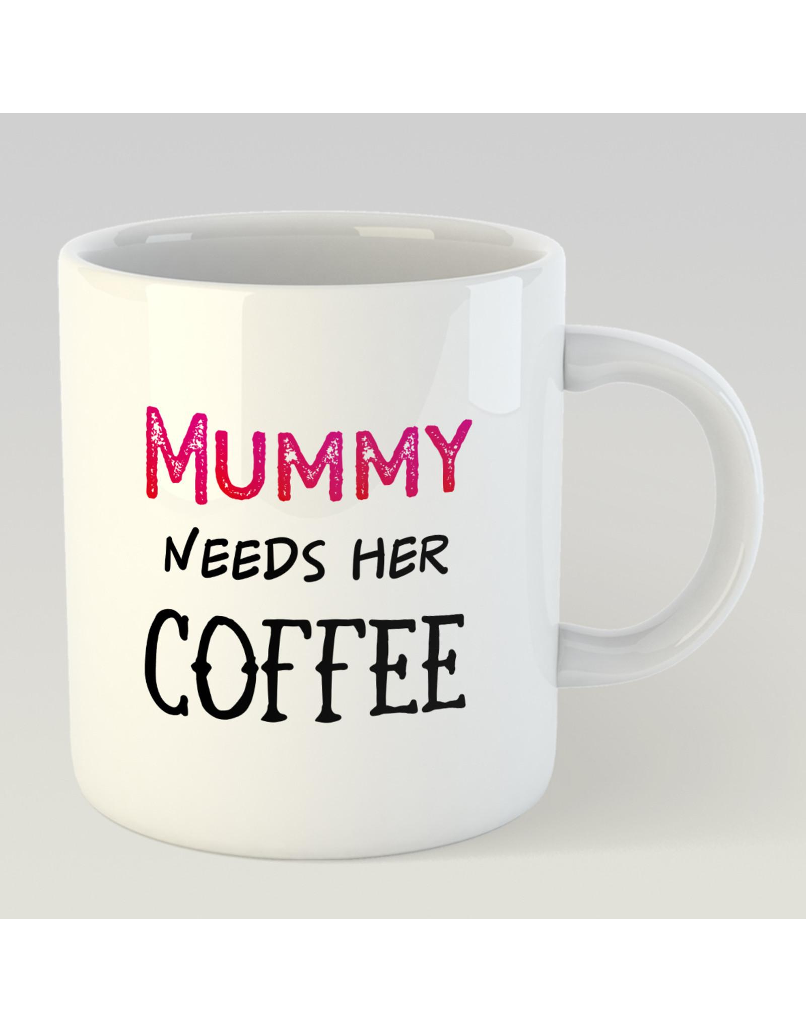 Jelly Jazz mok - Mummy needs her coffee