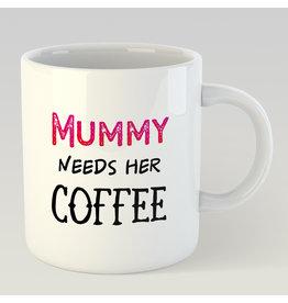 Jelly Jazz mug - Mummy needs her coffee