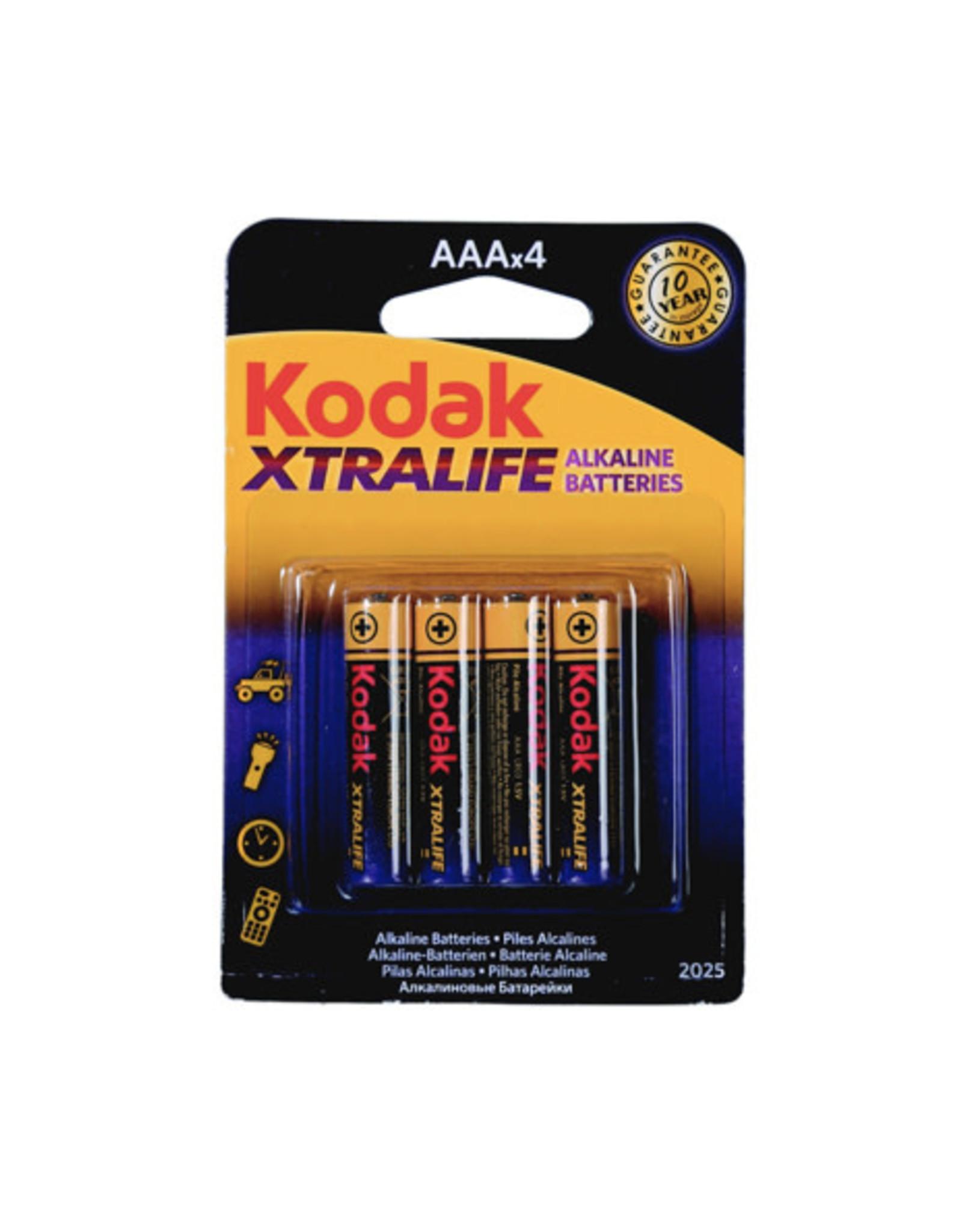 AAA batterij - Kodak (4pcs)