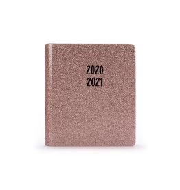 Tri Coastal diary 2020/21 - 18 months - pink glitz