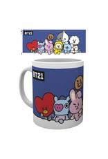 mug - BT21 - group (blue)