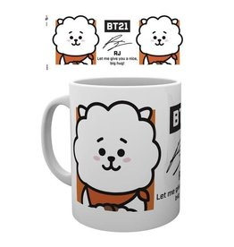 Hole In The Wall mok - BT21 - RJ