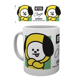 Hole In The Wall mok - BT21 - Chimmy