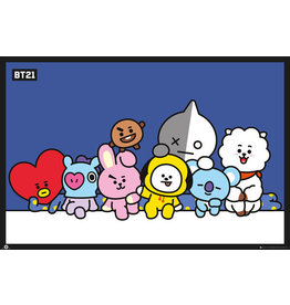 Hole In The Wall poster BT21 - group