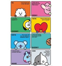 Hole In The Wall poster BT21 - Characters