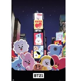 poster BT21 - Times square