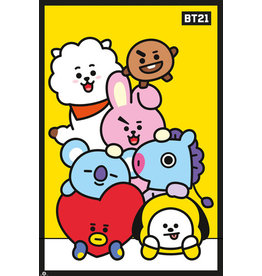 poster BT21 - Yellow
