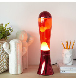 lavalamp - rode basis/rode lava