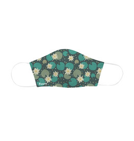 Fisura reusable face mask - adult - water lilies
