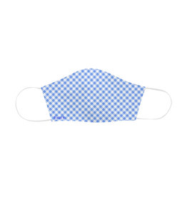Fisura herbruikbaar mondmasker - vichy blauw