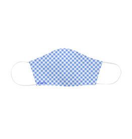 Fisura reusable face mask - adult - vichy blue