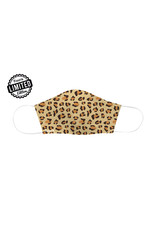 Fisura reusable face mask - cheetah (brown)