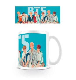 Hole In The Wall mug - BTS - Blue
